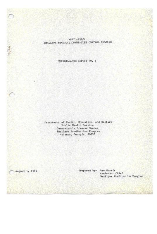 SURVEILLANCE REPORT NO. 1.pdf