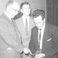 CDC - Alex Langmuir, Don Wysham, & Rei Ravenholt - Oct. 12, 1956.jpg